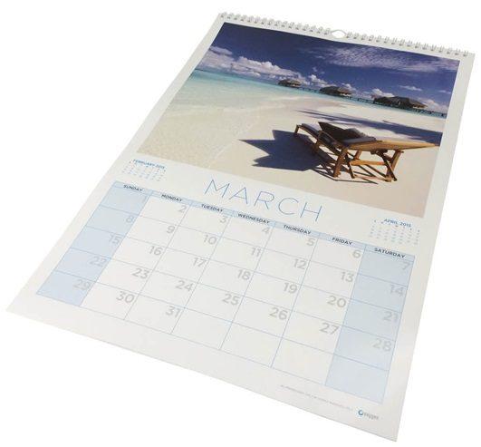 a3 sized calendars measure 297mm x 420mm