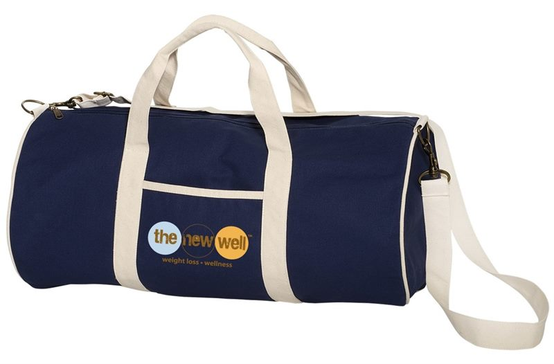 a9f7a56fb6 Offer Custom Cotton Canvas Duffel Bags at your sports day event.