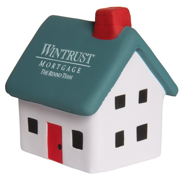 Small House anti stress toys make great giveaways for home