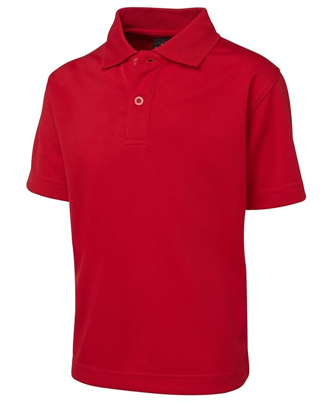Polyester Polo Shirts For Kids From Size 4 To 14 For Customized School
