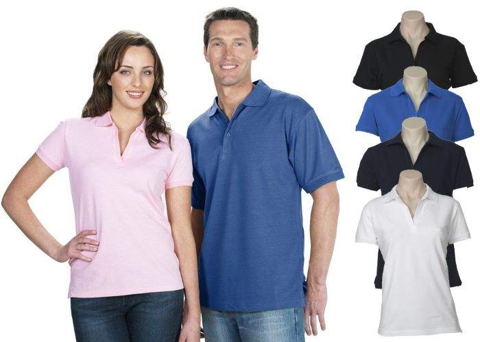 Ladies Cotton Elastane Polo Shirts are a comfortable cotton and elasta c10e7b9d2
