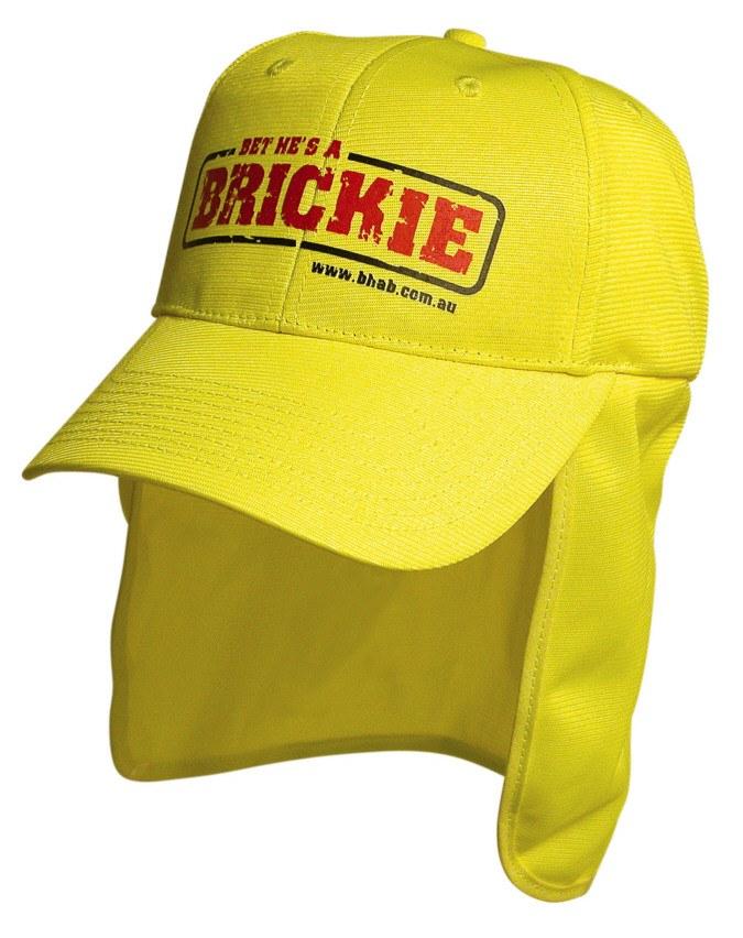0b22d11c6f2ec Branded Legionnaire cap in hi vis colours of green or orange