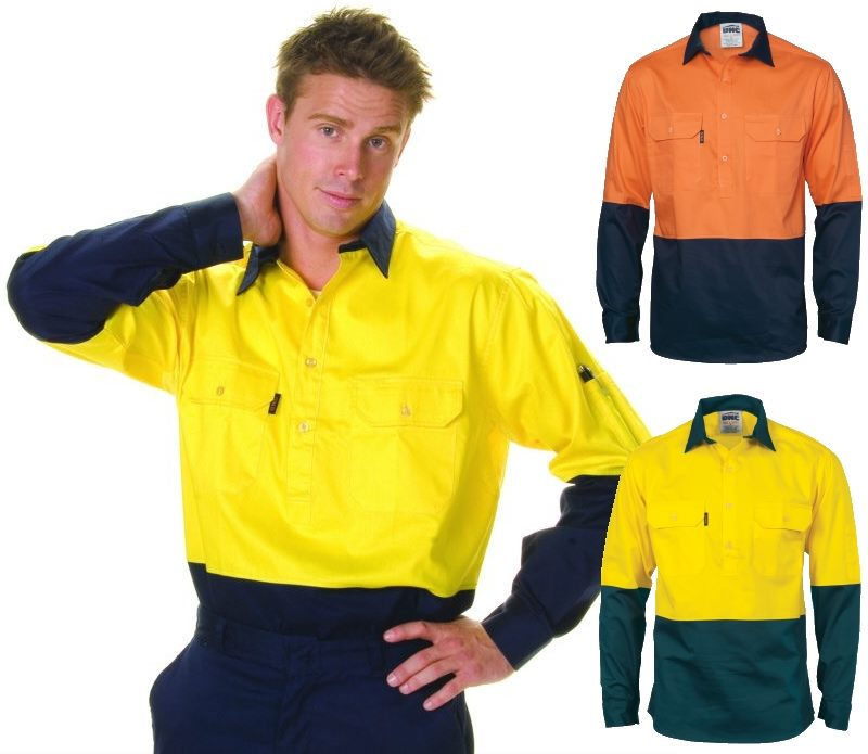High Visibility Long Sleeve Work Shirts Have Been Designed