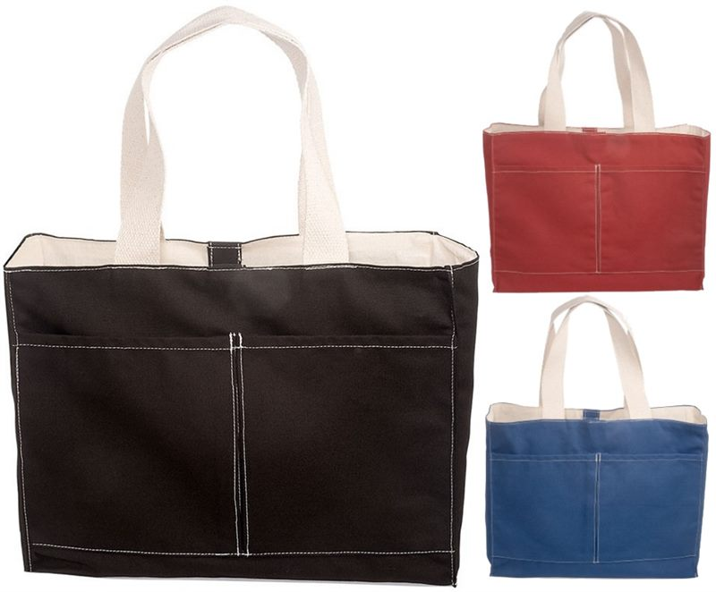 0d39fedd6f5aa Deluxe Cotton Canvas Tote Bags are a wonderful promotional idea to ple