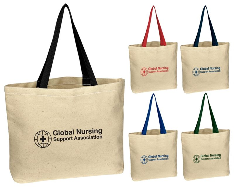 8bf798988 Natural Canvas Tote Bags make great promotional gift products