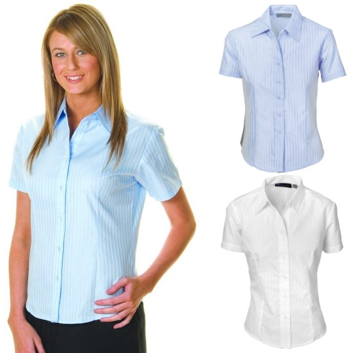 Short Sleeve Ladies Striped Shirts Are Great For Any