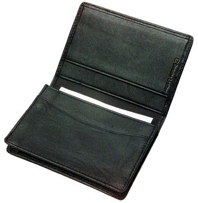 Portable leather business card holders have multiple pockets and an ex portable leather business card holder colourmoves