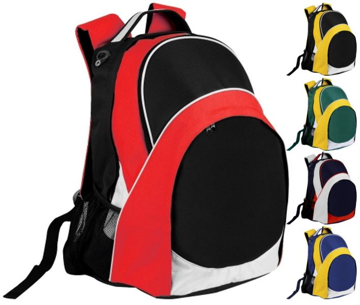 ba7a52be06 Promo Sports Backpacks can easily deliver a promotional message ...