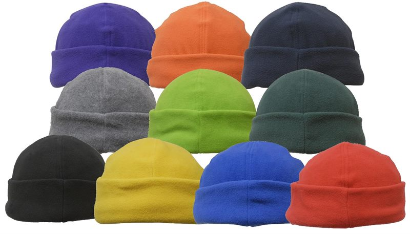 Promotional Fleece Beanie with anti pill feature to keep you warm 1a5cb3fdd71