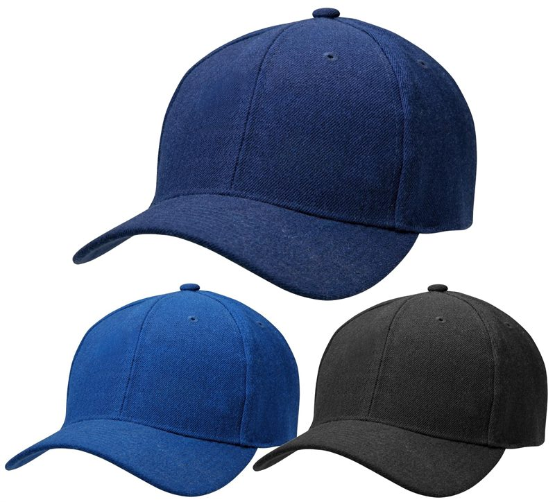 Black baseball caps and other colours in this six panel cap for promot 0cae7730fa5