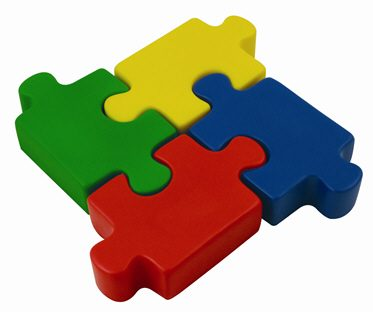 stress shape jigsaws have a fun jigsaw style shape and can be custom p