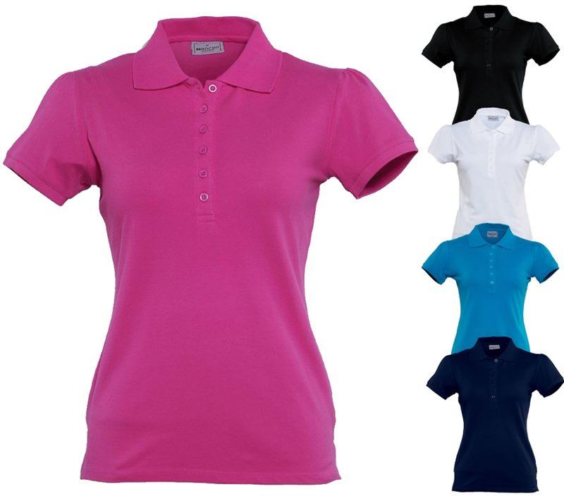 be7ce608 Womens Promotional Polo Shirts are a stylish way to promote your corpo