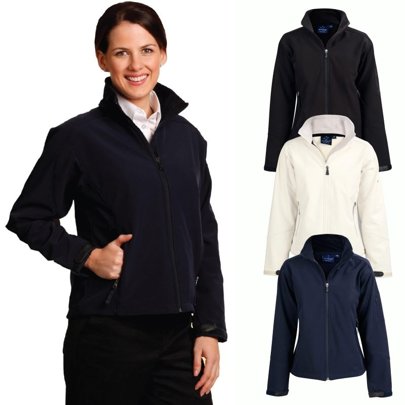 6e047be34 Women's Softshell Jackets are high quality promotional jackets.