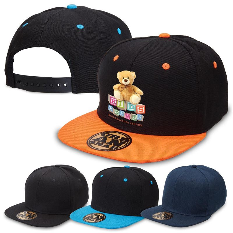 494d4339cee Youth Urban Snapback Caps have a stylish