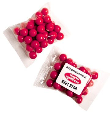 promotional chocolate balls