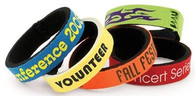 feec49f33bdb 12mm wristbands made from neoprene & available in 31 different bright
