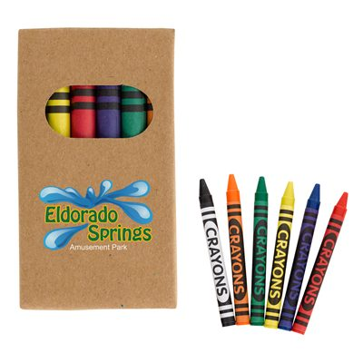 6 Piece Crayon Pack