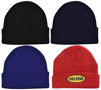 four winter beanies