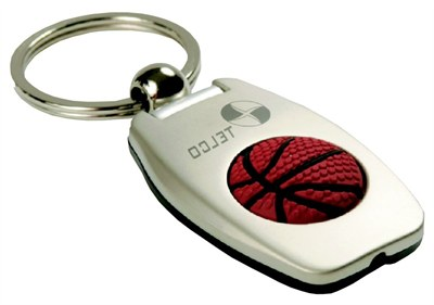 Basketball LED keychain