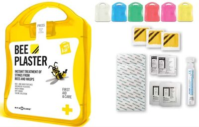 Bee Sting First Aid Kits Are Available In Different Colours