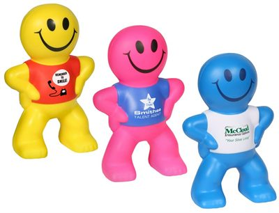 Captain Smiley Stress Balls Are Fun Gifts To Make You Smile