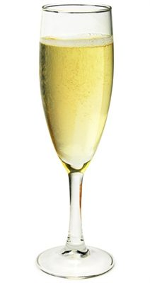 Customised Champagne Glasses