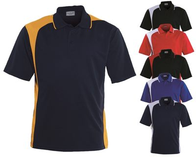 Custom polo shirts are available in several bold for Personalised logo polo shirts