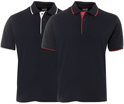 Corporate logo polo shirts made from one hundred percent for Cotton polo shirts with logo