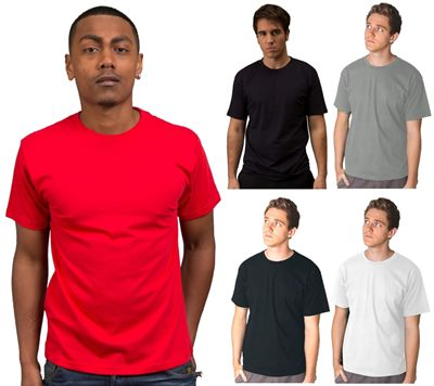 low cost t shirts are made from 100 cotton and can be
