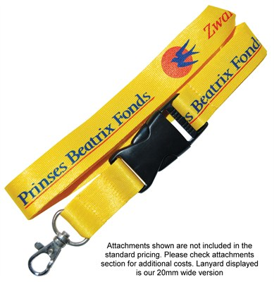 Printed Nylon Lanyards