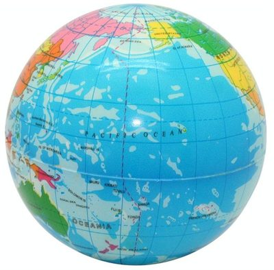 Earth Toys Earth Globe Stress Toy