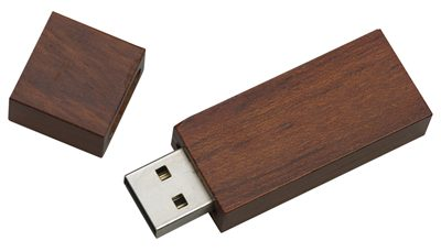 Walnut Wooden USB Drive