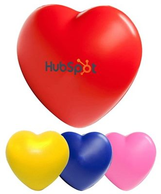 Heart Promotional Stress Ball