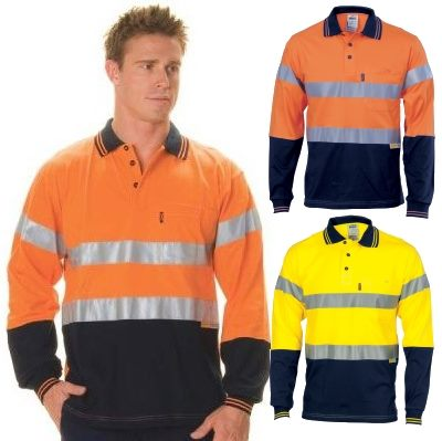 Hi vis reflective tape jersey shirts can be printed with for Hi vis shirts with reflective tape