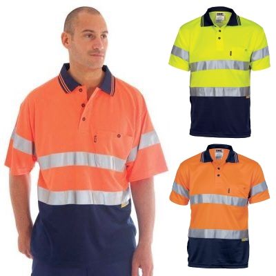 Reflective tape hi vis shirts are made from 100 polyester for Hi vis shirts with reflective tape