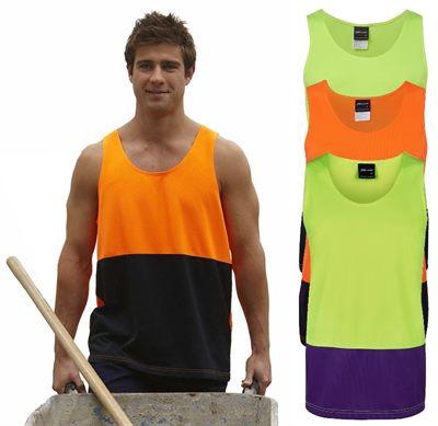 b9071c9787306 Custom Hi Vis Tee Shirts   Singlets