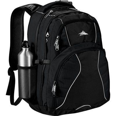 a56a4cc140b0 High Sierra Swerve 17 inch Computer Backpacks come in black.