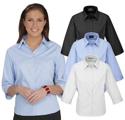 Ladies Half Sleeve Business Shirts Are The Staff Workwear