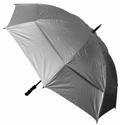 Large Double Canopy Golf Umbrella  sc 1 st  PromotionsOnly & Large Double Canopy Golf Umbrellas have unique fibreglass shafts and r