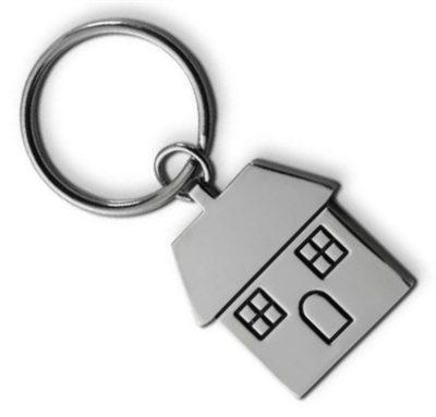 Metal House Key Rings Are Fun And Popular In Bulk