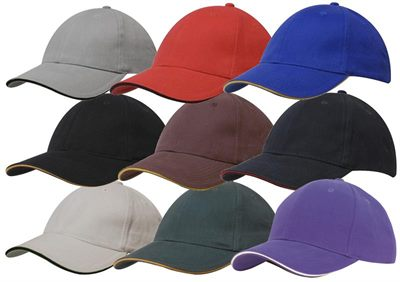 Baseball Cap with Sandwich Trim 3ac99065efb
