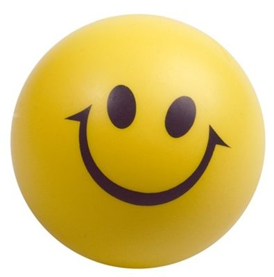 Smiley Face Stress Ball View HiRes Image