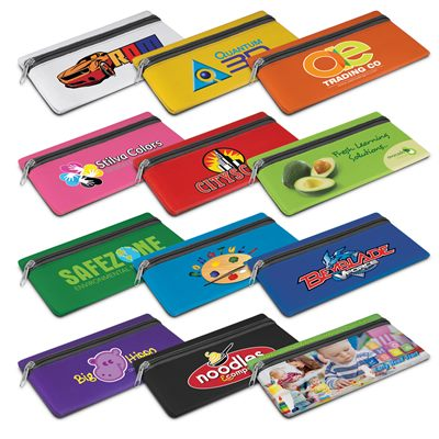 Sublimated Pencil Cases Can Be Printed On Both Sides And