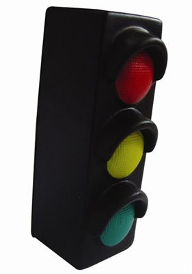 Traffic Light Stress Shapes Can Be Custom Labeled With
