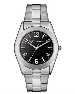 Silver Finish Mens Watch