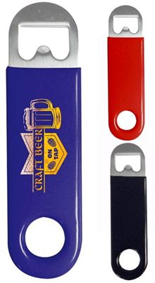 Vinyl Coated Bottle Opener