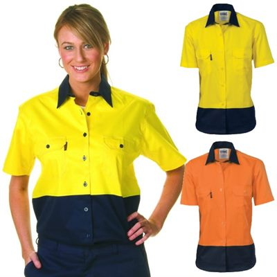 women 39 s hi vis work shirts have been designed for the