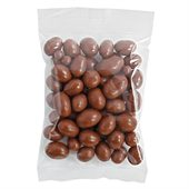 Chocolate Peanuts 100g Cello Bag