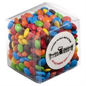 M&Ms in 110g Clear Cube
