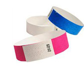 Unprinted Tyvek Wristband